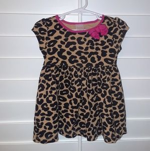 Gymboree girls Animal Print Dress 12-18mos
